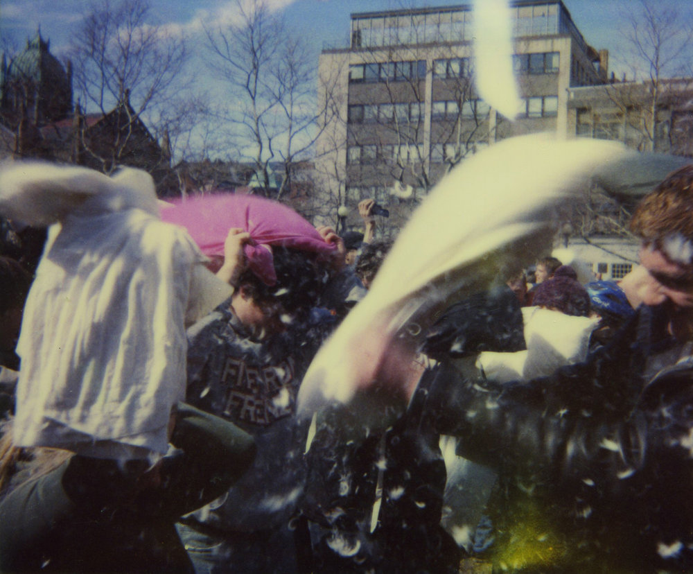 Colin  Kenniff | International Pillow Fight Day | Polaroid Spectra