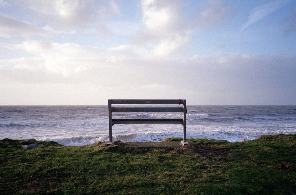 Stormy Sea View | Olympus XA | Agfa Vista 200 | Robert Law