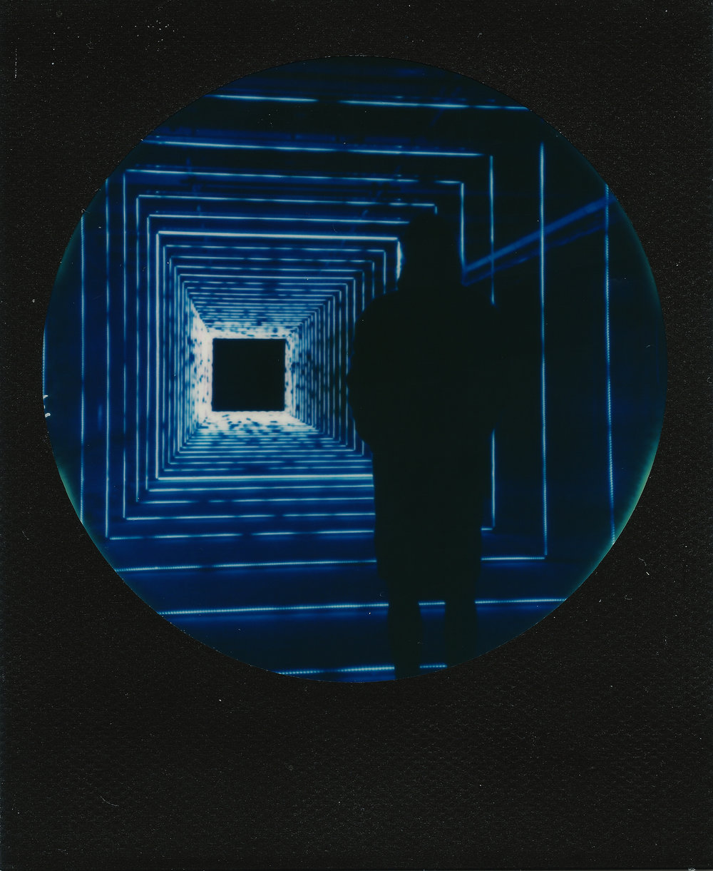 Into The Void | SX70 | Round Black Frame | Ray Liu