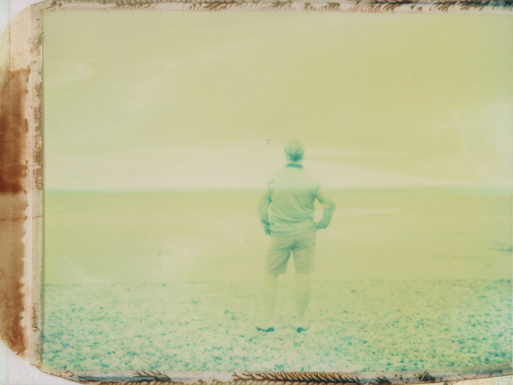 The Ghost on the Sand | Polaroid 110A | Polaroid 669 | Anne Silver