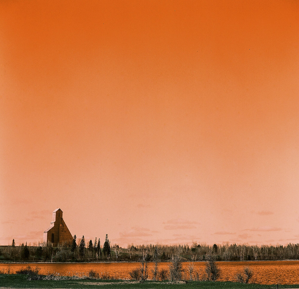 Lomo Sky | Yashica Mat 124G | Lomography Turquoise 100 | James Thorpe