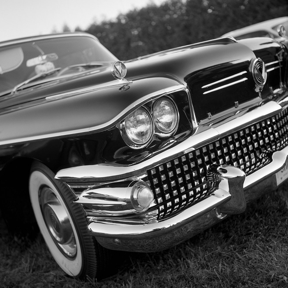 Buick | Ricoh Diacord | Portra 160  | Howard Sandler