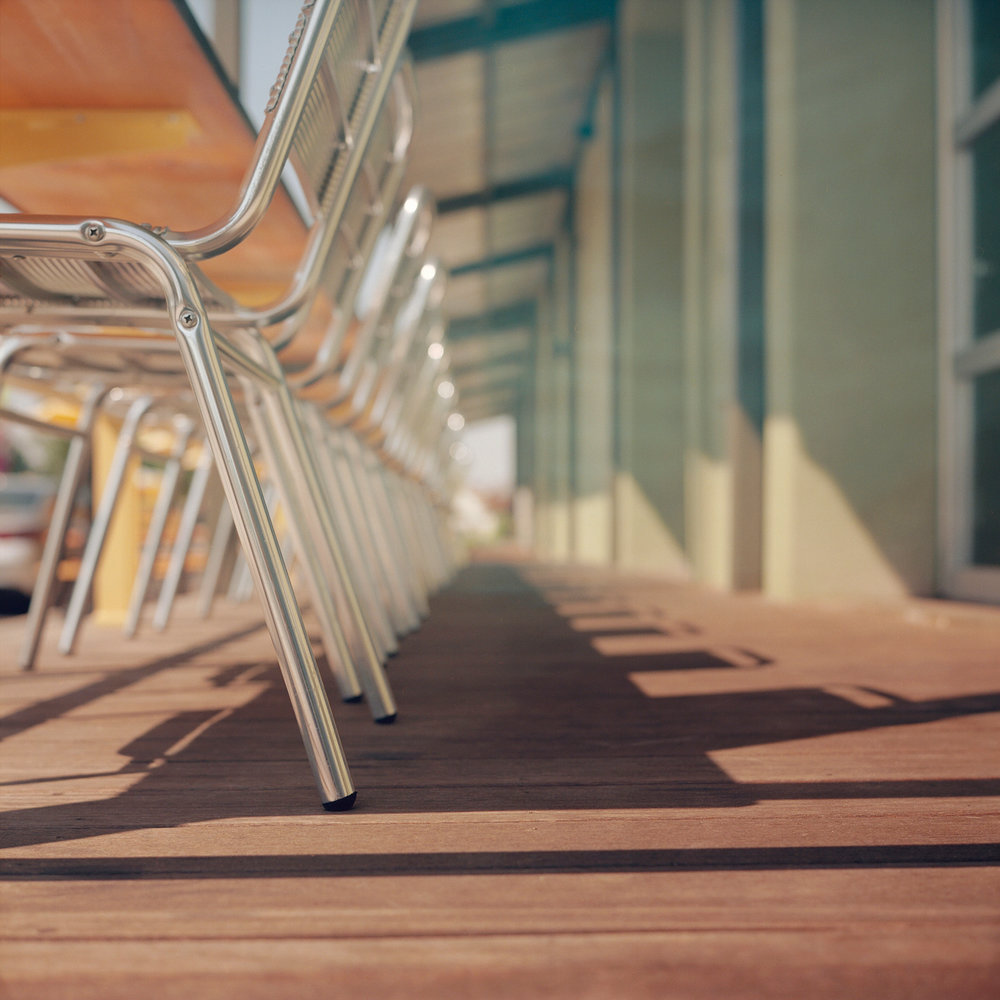 Chairs | Rolleiflex 28C | Kodak Ektar 100 | Colton Allen