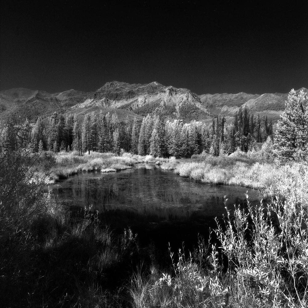 Boulders 2012…Sept. 2012 Rolleiflex 6008i, 50mm Distagon FLE, Efke IR820 Aura