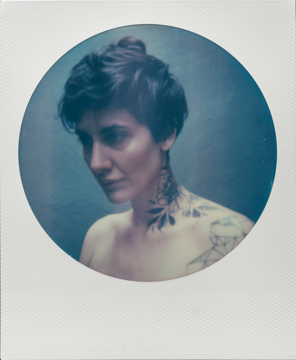 Gwen | Polaroid SX70 | Impossible Color | Heath McKenney