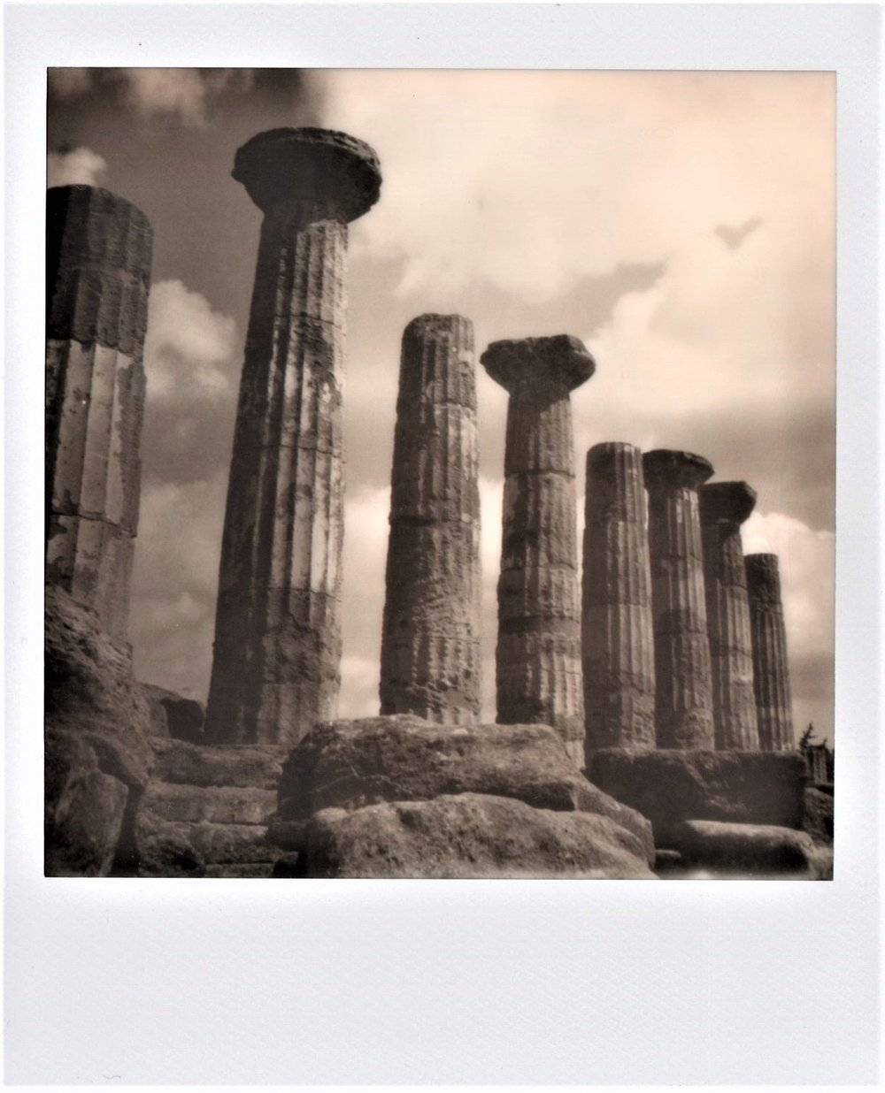 Time | SX70 | Impossible Black & White | Marina Inì
