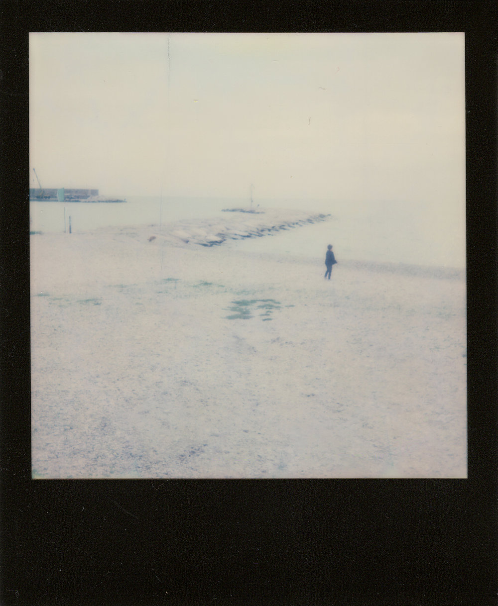 Lonely child | I-1 | Impossible Color + Black Frame | Matteo Quitadamo