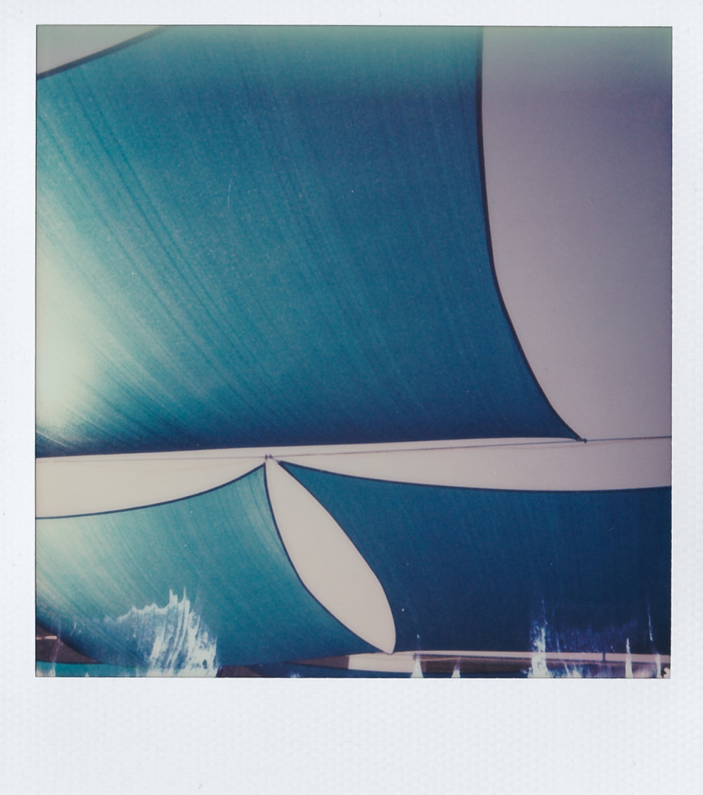 Blue | Polaroid 600 | Chris Ullrich