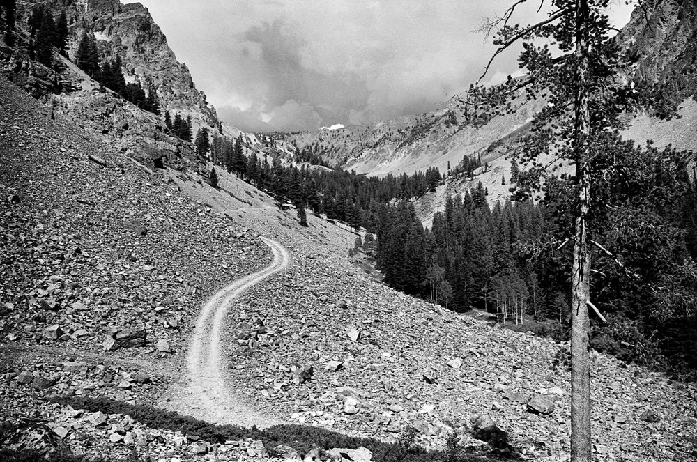 Boulder basin 1975…Aug. 1975 Leica M5, 35mm Summicron, Ilford Pan F