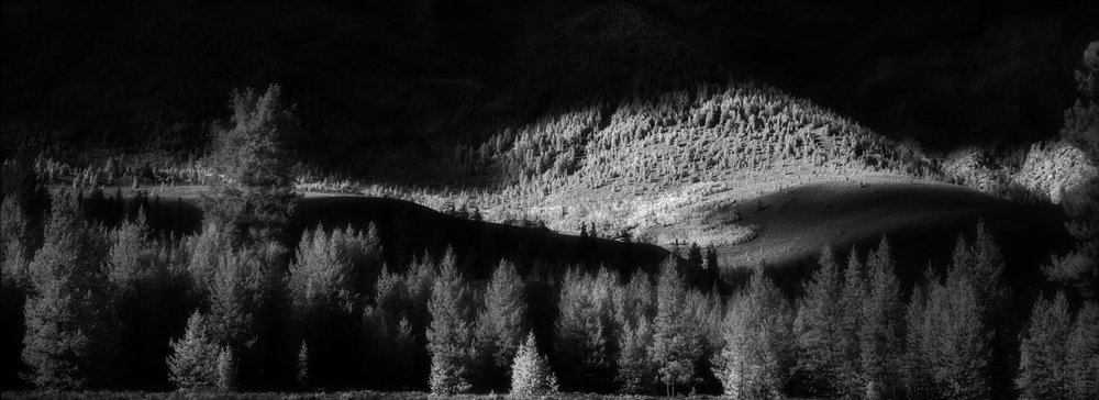 Boulder sunset…Aug. 2007 Hasselblad Xpan, 90mm, Maco IR820c