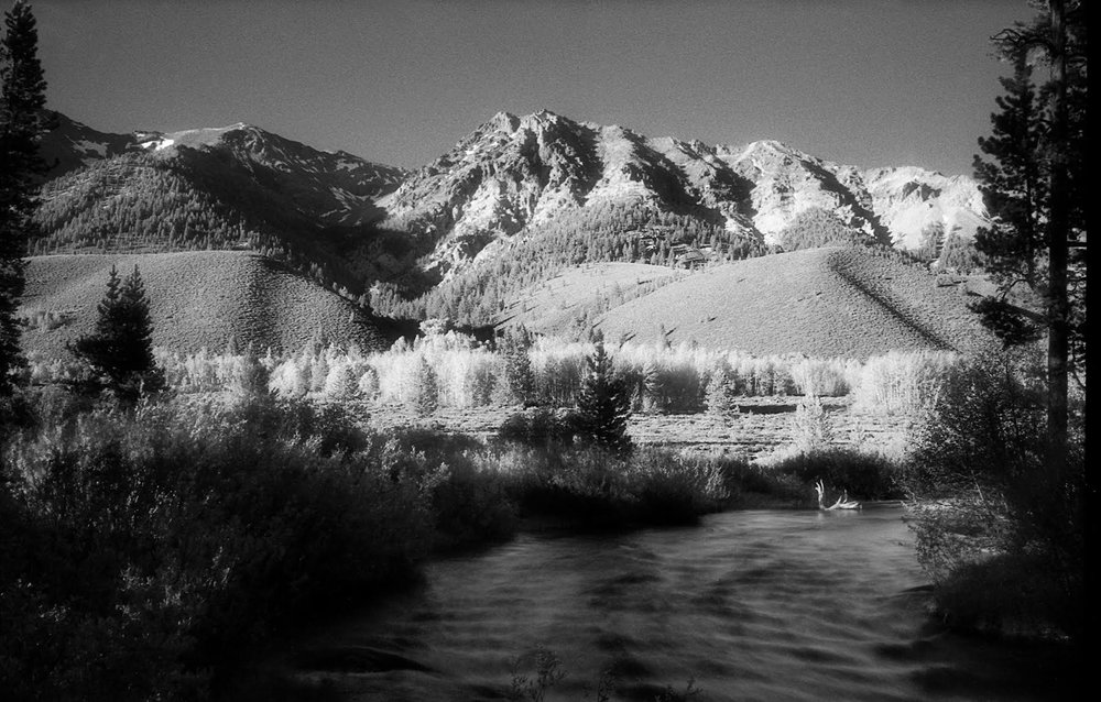 Boulder afternoon…June 2009 Leica M5, 35mm Summicron , Efke IR820 Aura