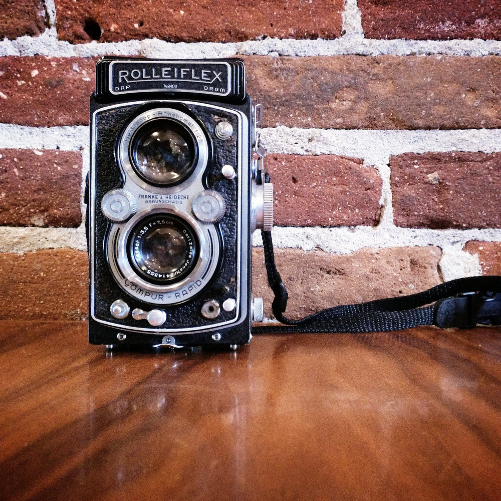 1939 Rolleiflex Automat RF111A with Carl Zeiss Jena Tessar 7.5cm f/3.5 (uncoated)