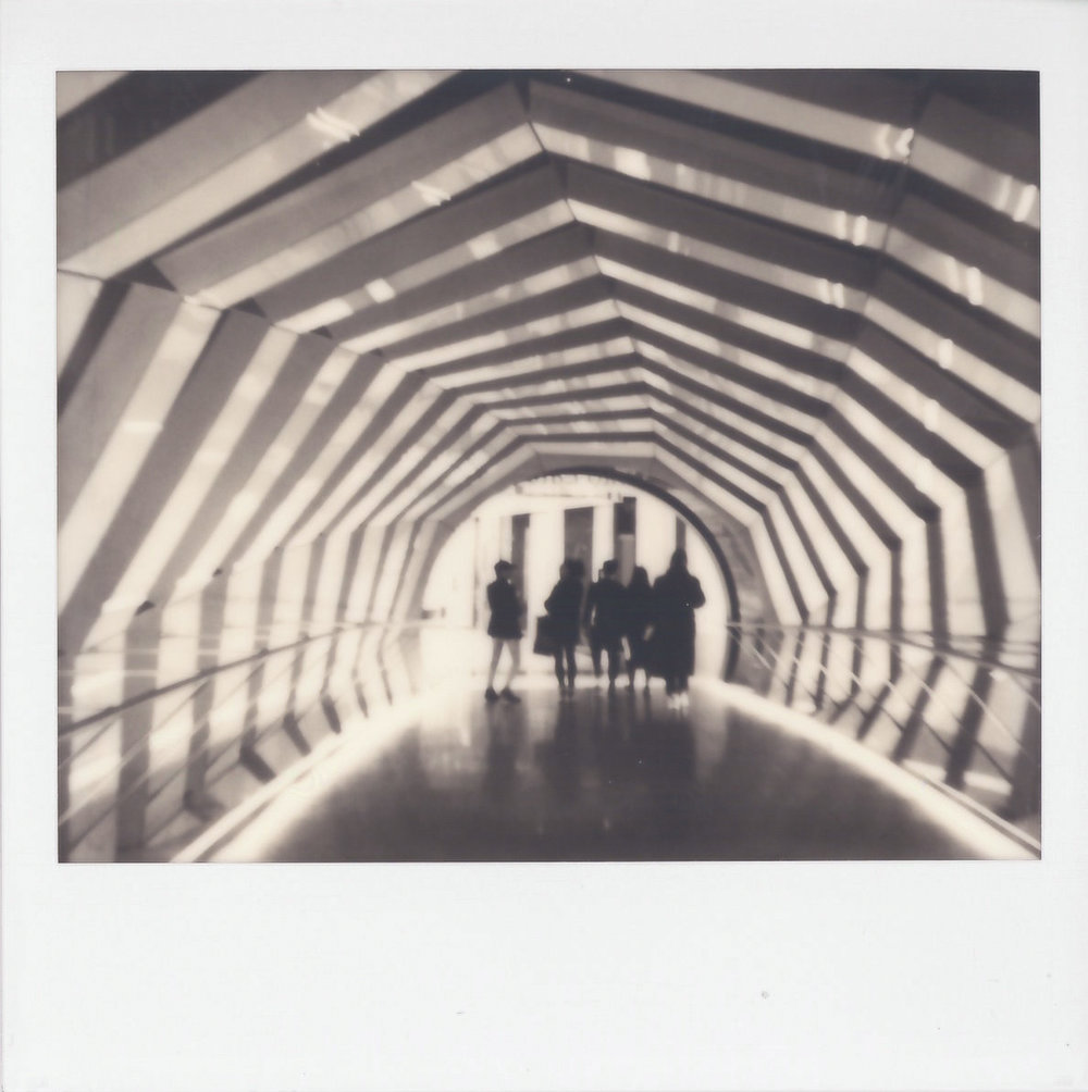 Untitled | Polaroid Spectra | Polaroid Originals B&W | Andrew Gammell