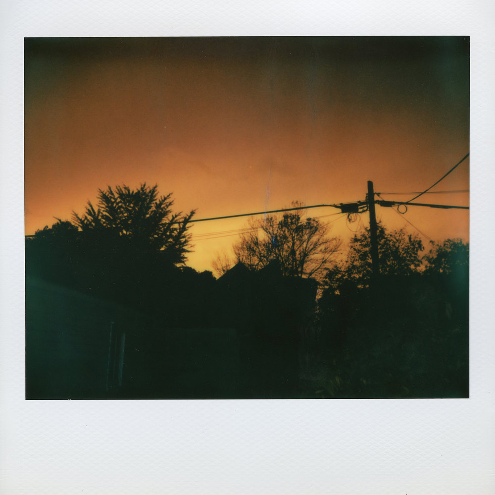 Sunrise or Sunset | Fuji Instax 210 | Barbara Justice