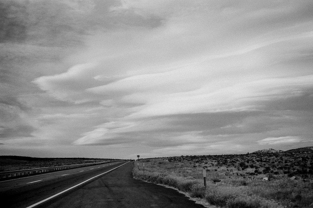 Roger Wojahn | Lenticular Clouds | Leica MP | Delta 100