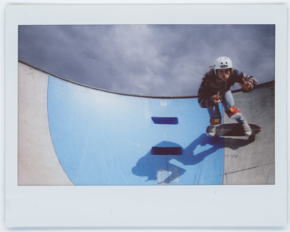 Two Fingers | Fuji Instax Wide 300 | Fuji Instax Wide | Jake Hall