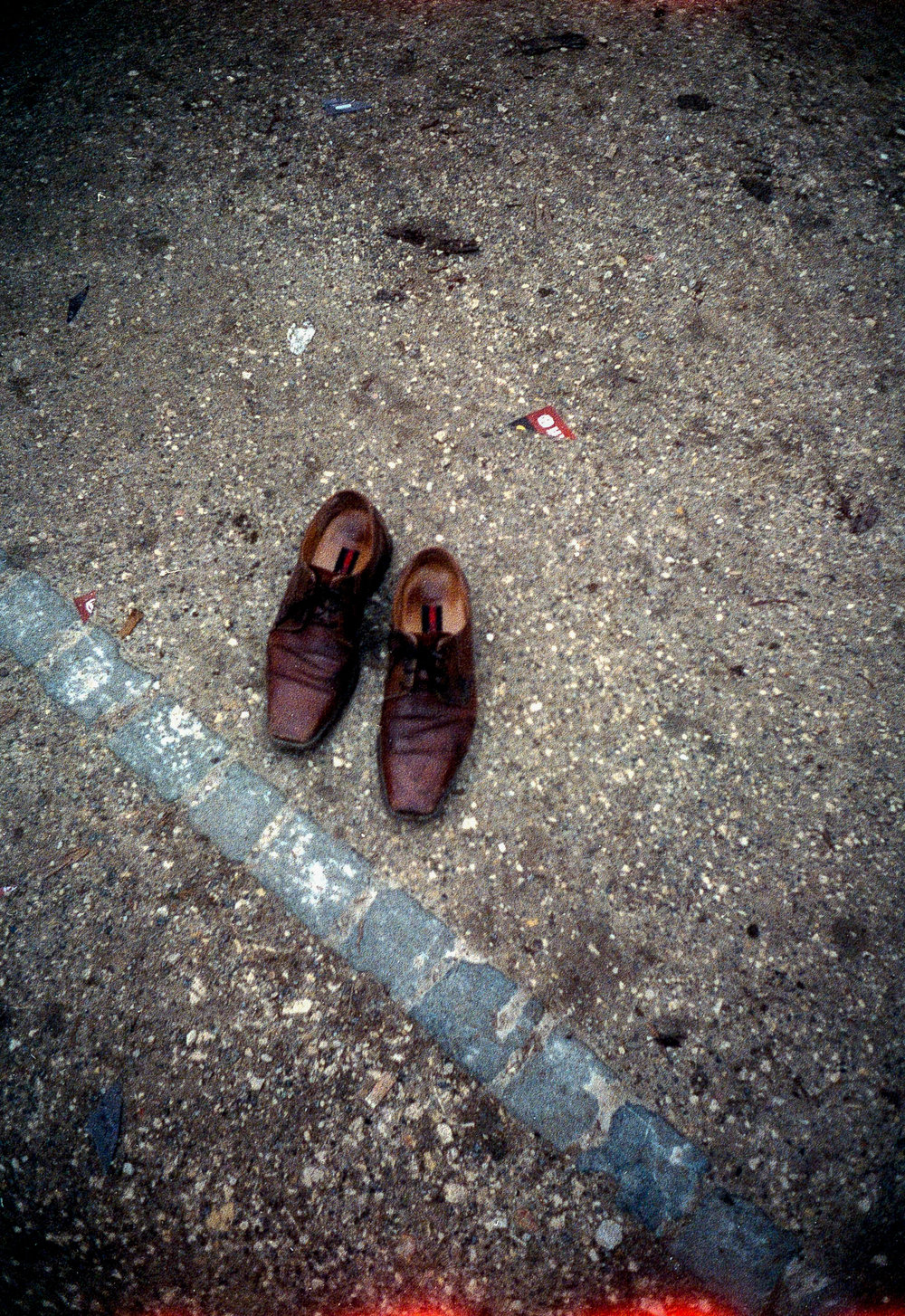 Shoes to Fill | Ricoh Auto Half | Expired AGFA portrait 160 | Daniel Stoessel