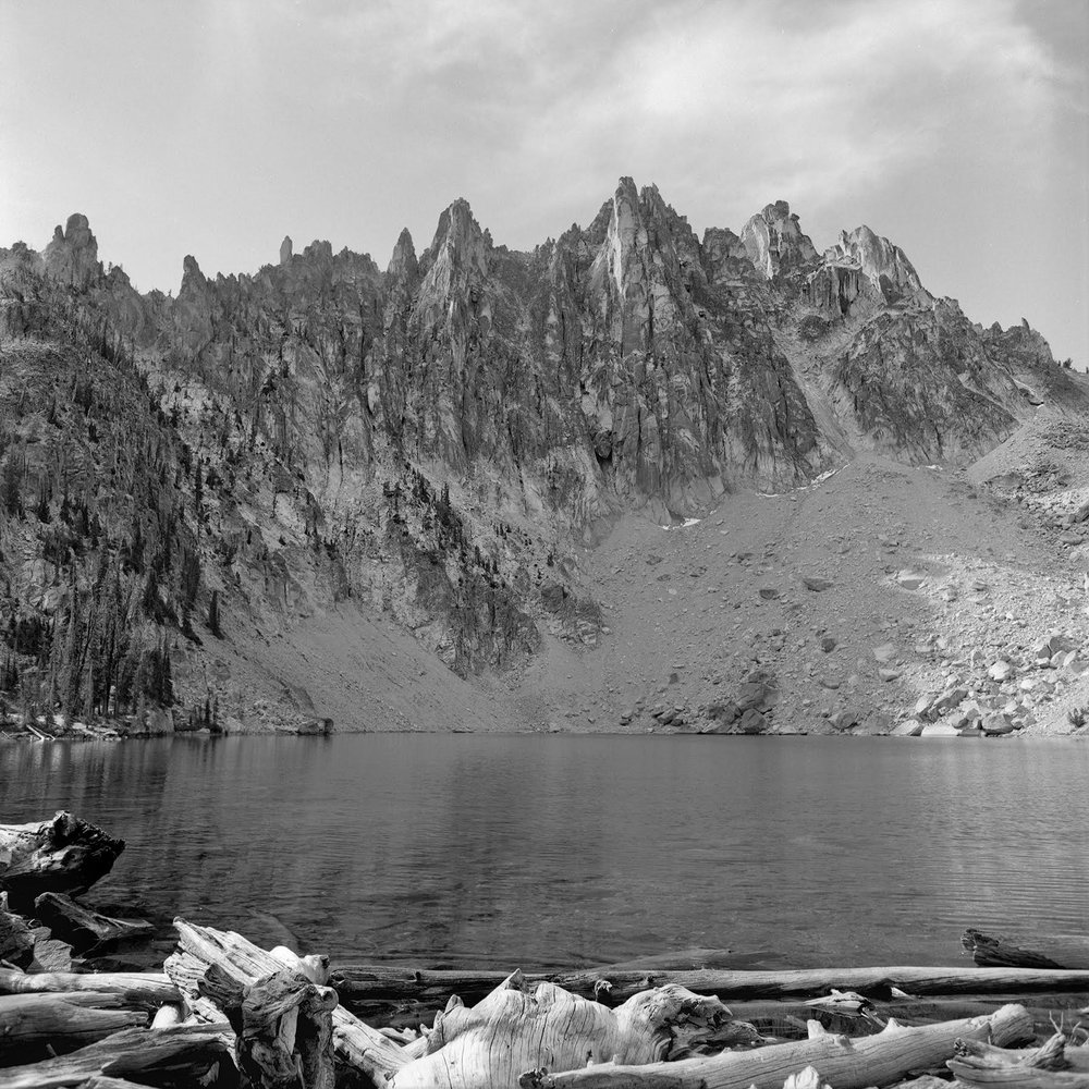 Hepburn Mountain and Bench Lake #5 Rolleiflex FW, Ilford FP-4 plus