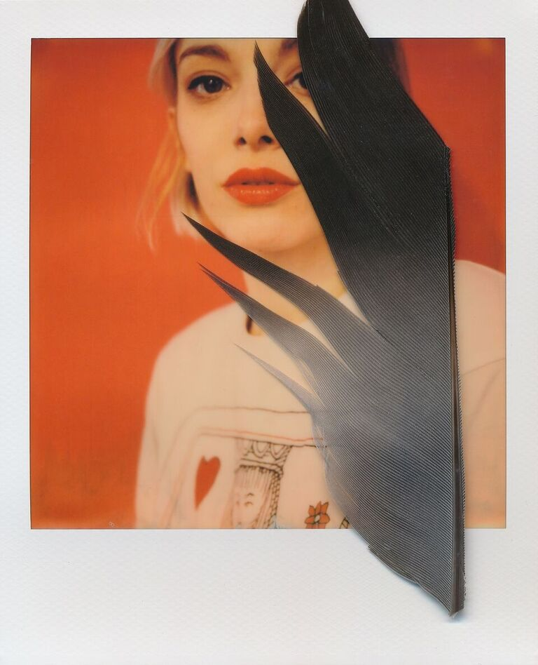 Queen of Hearts | SX-70 Model 2 | PO for SX-70 Color | Philippe Galanopoulos