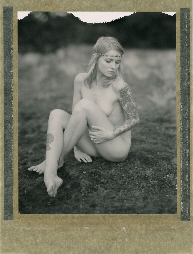 Untitled | SpeedGraphic | Polaroid 54 | Stefan Merz