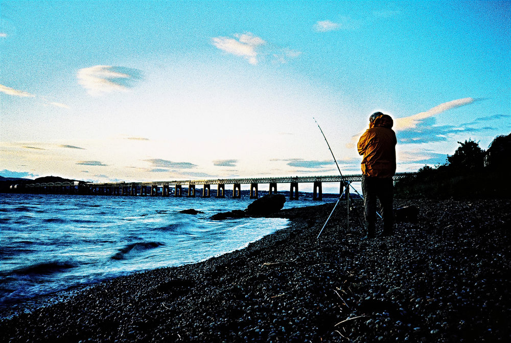 X-pro Fishing | Olympus XA | Velvia 50 | Michael Rennie
