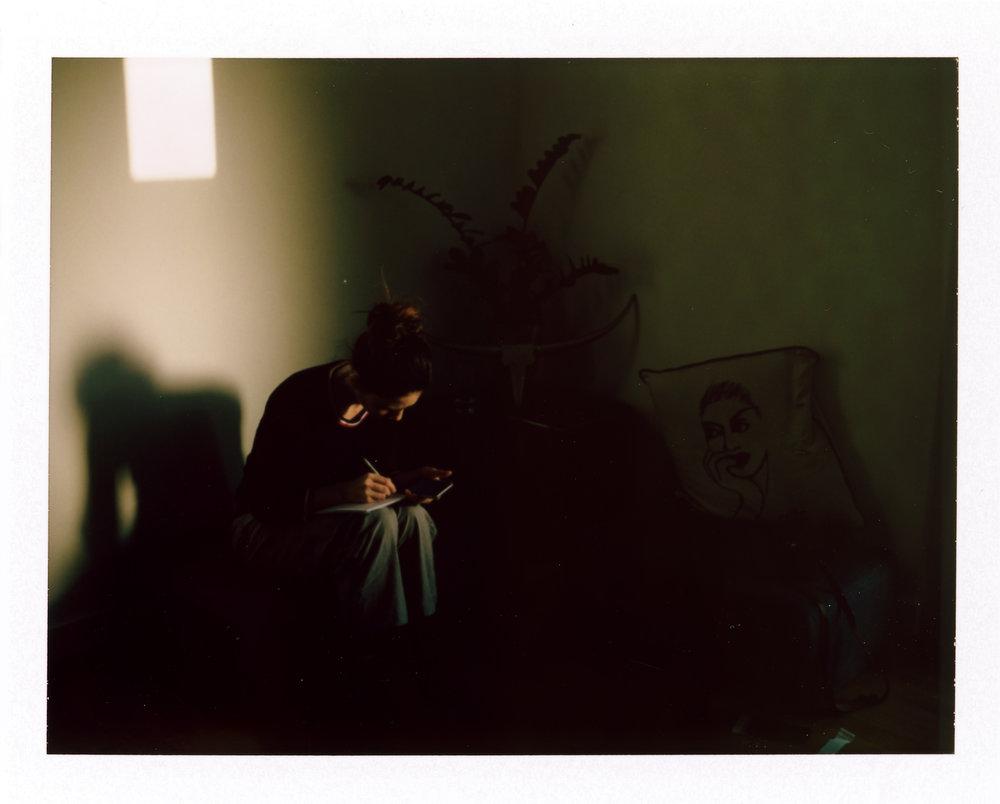 Abendstimmung | Polaroid 195 | Fuji FP-100C | Olivier SM