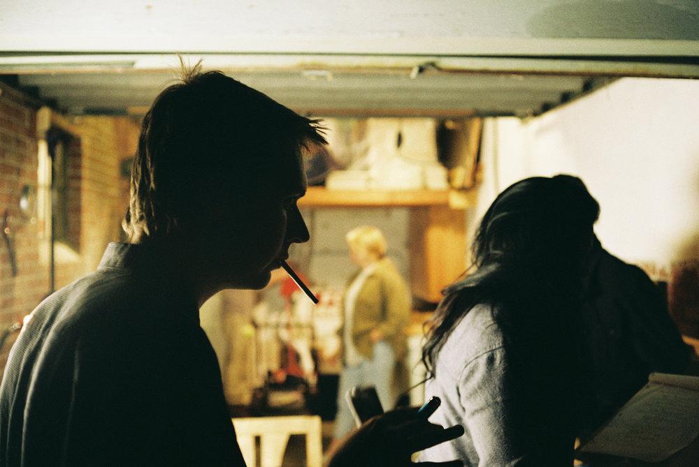 Jake Leininger  | Smoke Between Takes | Canonet GIII 40mm f1.7