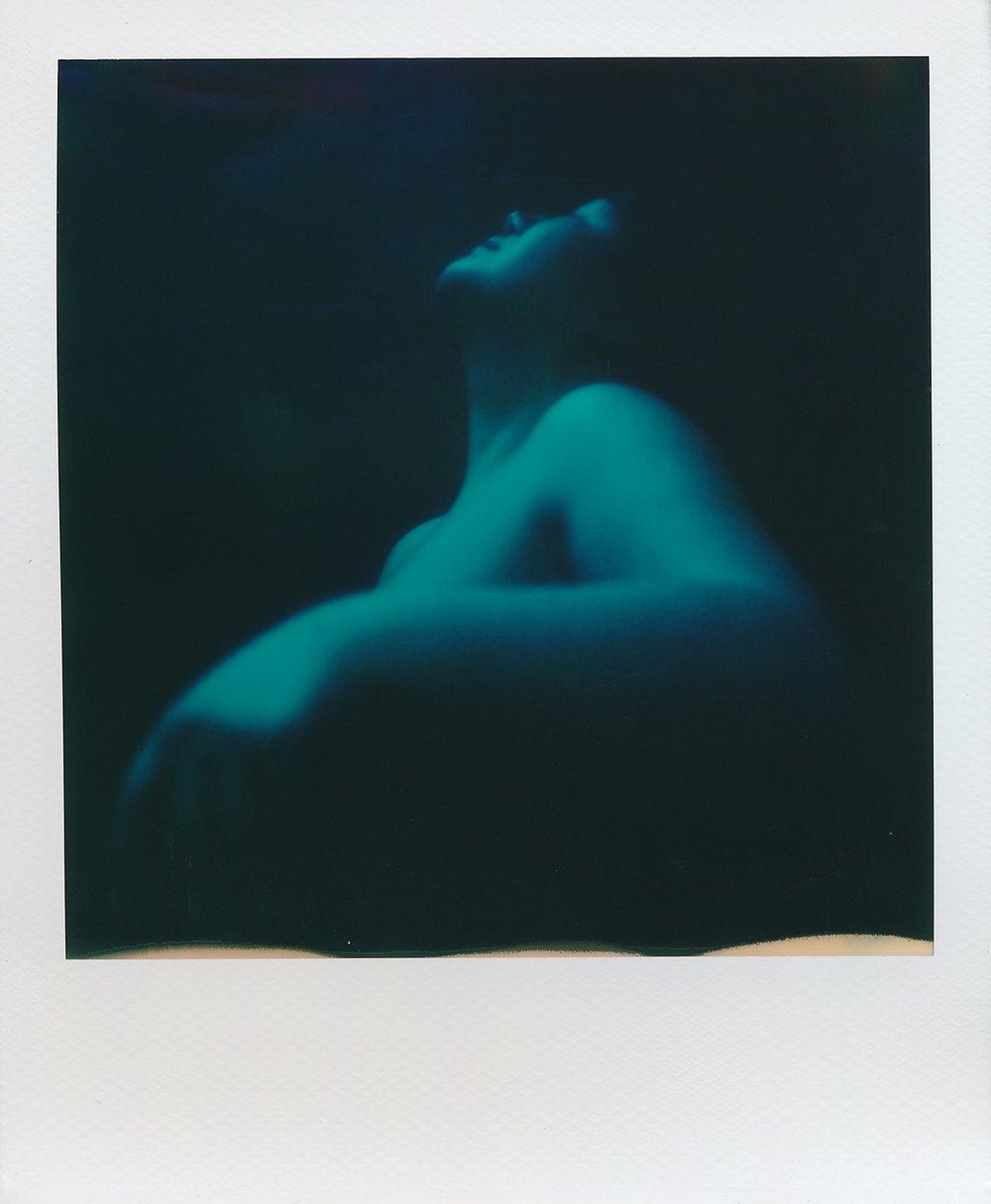 Raw Blues | Polaroid SX-70 Model 2 | Polaroid Originals Color for SX-70 | Phillippe Galanopoulos