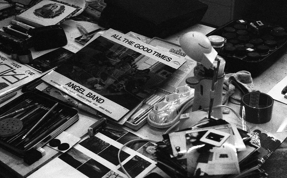 Barbara Justice | All The Good Times | Nikon FM2 | Ilford HP5+