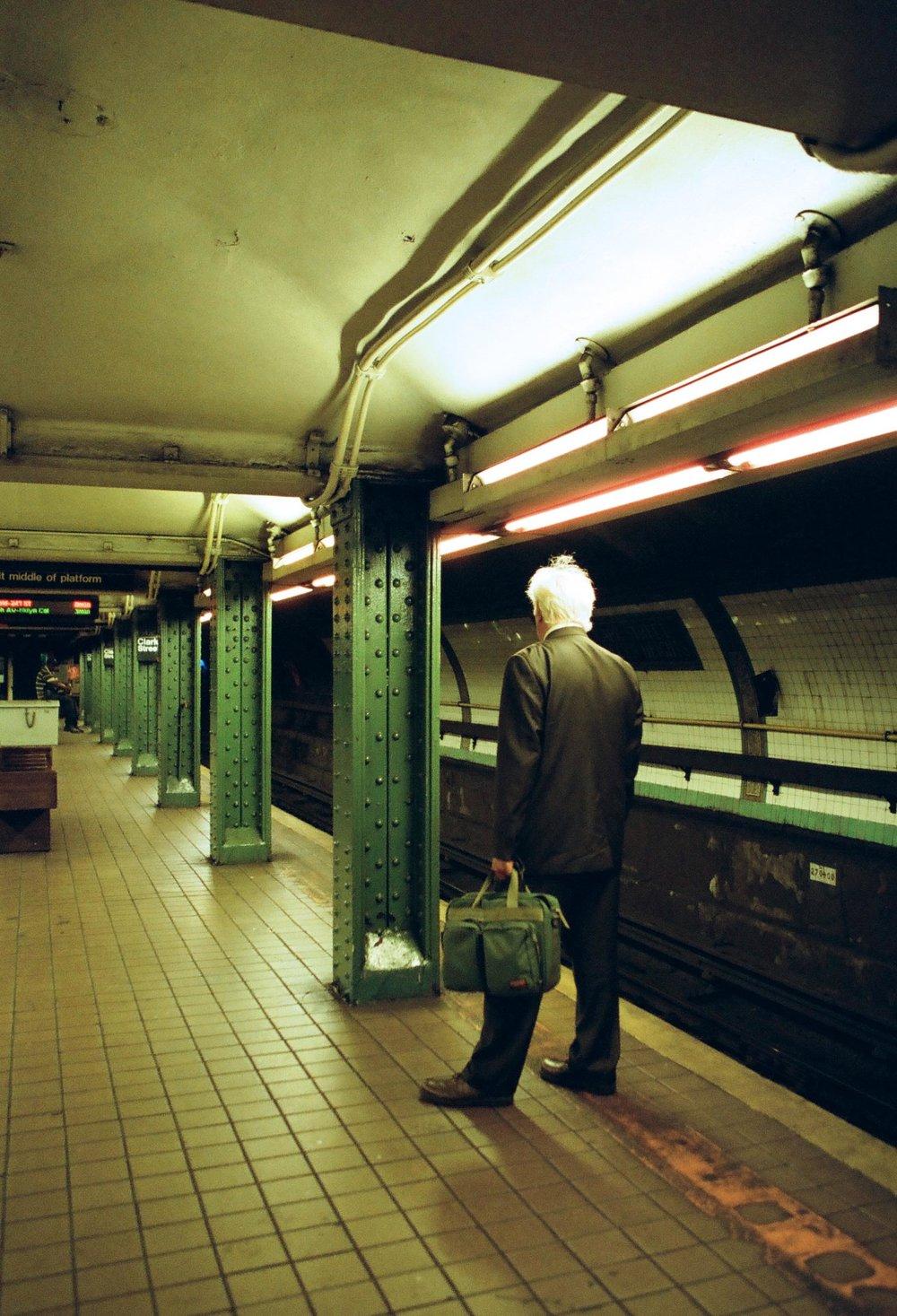 Ride Into Manhattan | Canon 10s | Portra 800 | Angela Pailevanian