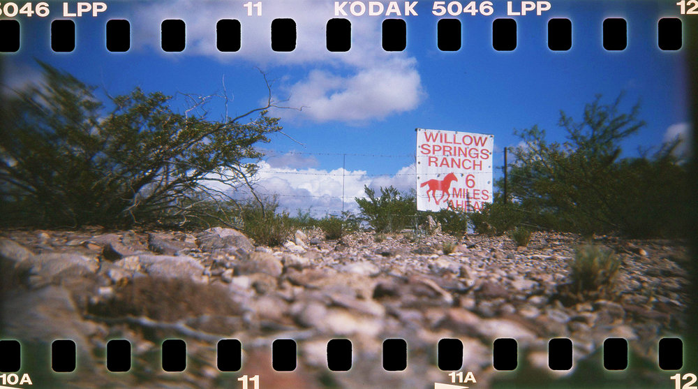 Barbara Justice | Six Miles Ahead | Holga 120TLR | Kodak Ektachrome Lumiere 100 Expired 2001