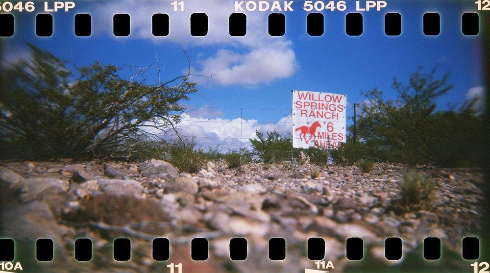 Barbara Justice | Six Miles Ahead | Holga 120TLR | Kodak Ektachrome Lumiere 100 Expired 2001
