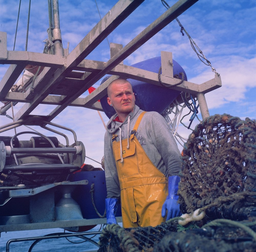 Rick Davy | Fishing for crab | Hasselblad 500 C/M