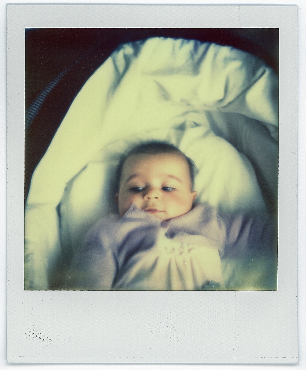 Allegra | Polaroid  SX-70 | Emanuele Bertoni