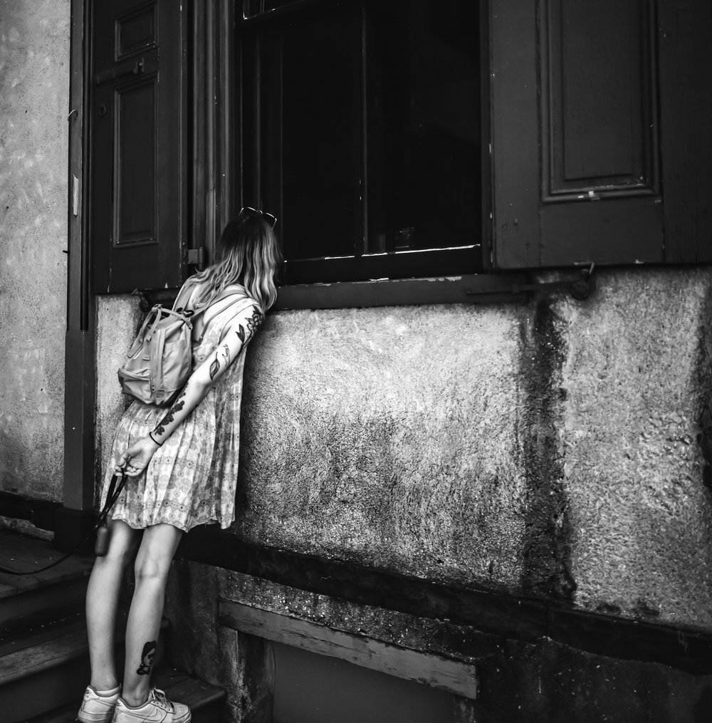 Through The Window | Mamiya 6 | Mamiya G 75mm f/3.5 | Kodak TX 400 | Michael Fauscette