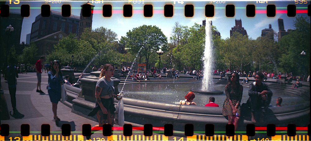 Randolph  Stoughton | Washington Square Park | sprocket rocket