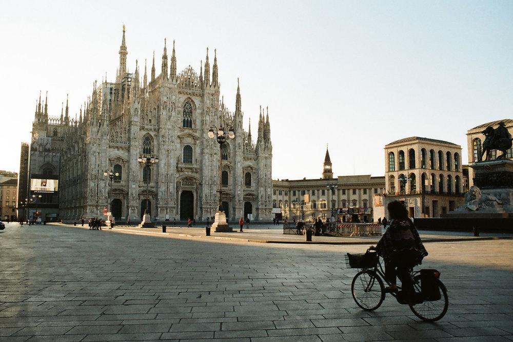 Milano Morning   Olympus OM10   Zuiko 28mm f/2.8   Gleb Yuryev
