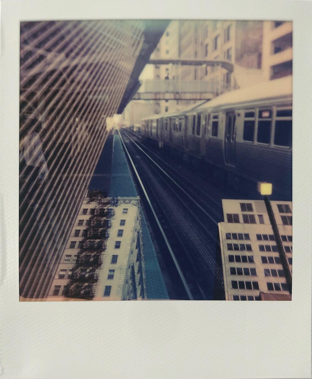 Loop | Polaroid OneStep 2 | Polaroid Color 600 | Tom Simmermaker