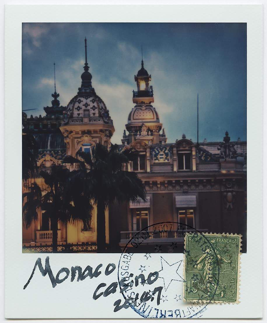 Monaco Casino | Polaroid 680 | Impossible Project 600 Color | Xulong Zhang