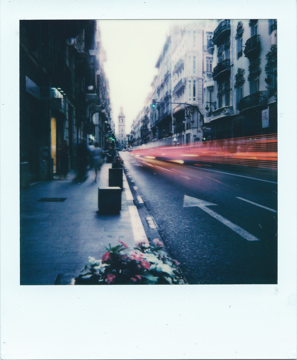 Carrer De La Pau | Impossible Project I-1 | Impossible Project I-Type Film | Ray Liu