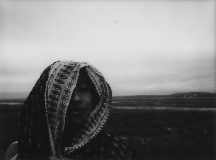 Marsh Woman | Instax Mini 90 | Instax Mini Monochrome | Joshua Weeks