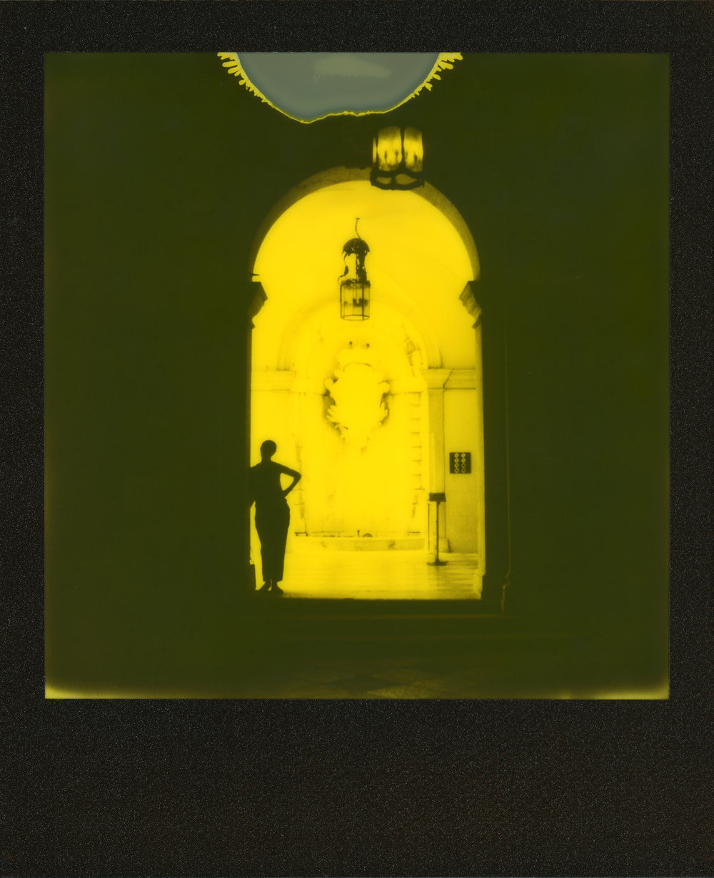 At Ca' Rezzonico | Polaroid SLR680 | Impossible Project Yellow Duochrome 600 | Marian Rainer-Harbach