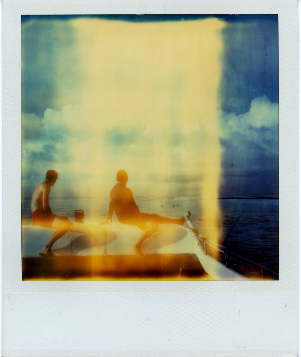 Maldives | Polaroid SX70 | Polaroid Time Zero | Matthew Smith