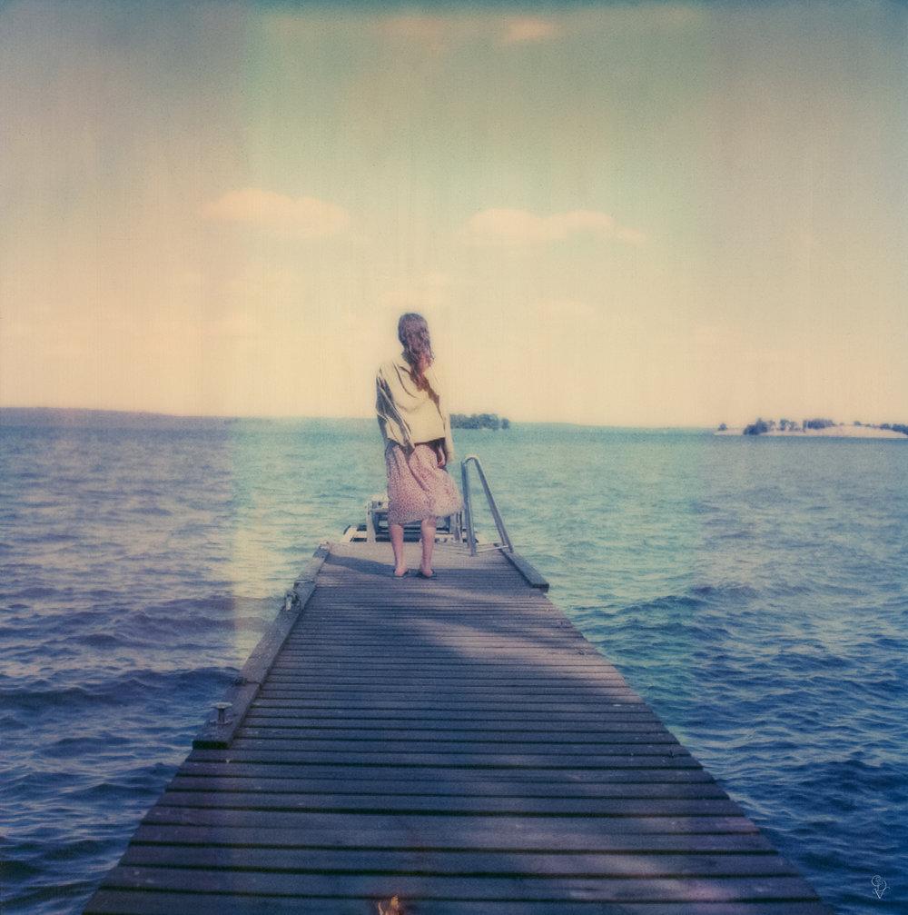 Hammarby 13 | Polaroid SX70 | Polaroid Time Zero | Carmen De Vos