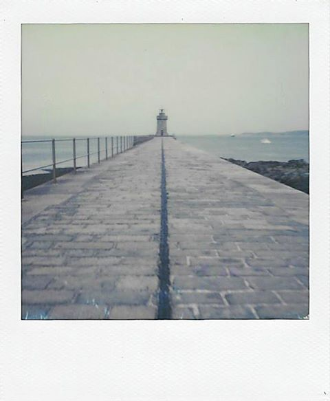 Breakwater | Polaroid SX70 | Impossible Project 70 Color | Julian Kanarek