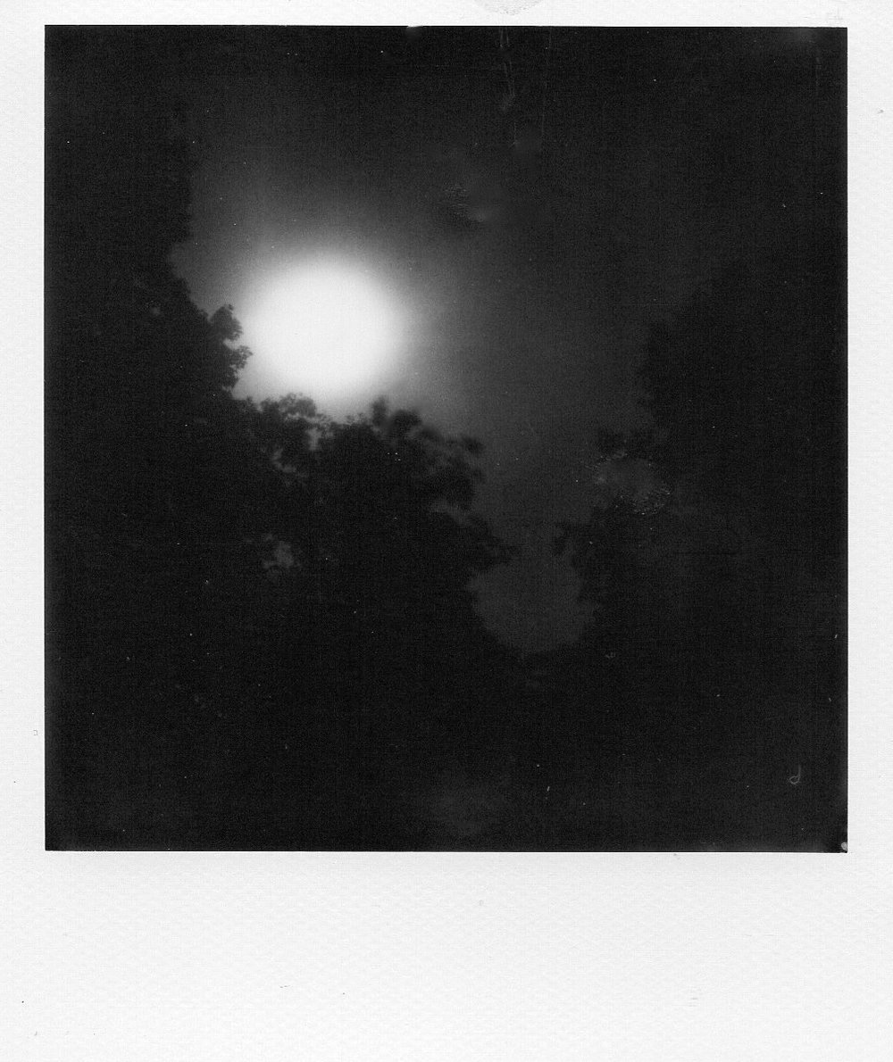 Summer Moon | Polaroid SX70 Modified | Polaroid Originals 600 B/WPO 600 | Hank Neimark