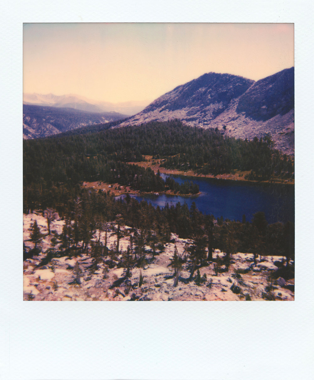Little Five Lakes | Polaroid Sun 660AF | Polaroid Originals 600 Color | Michael Behlen