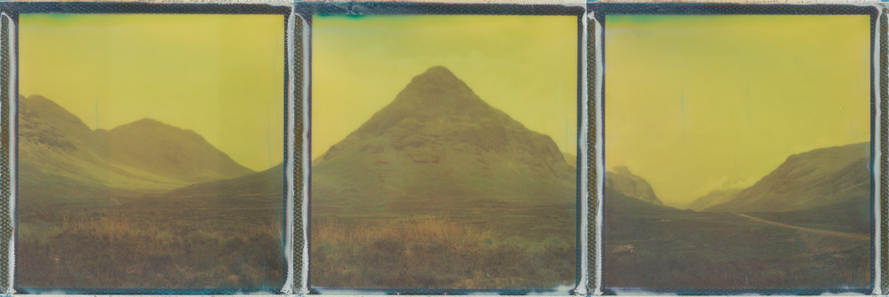 Buachaille Etìve Mòr | Polaroid SX70 | Impossible Project 600 Color | Ina Echternach