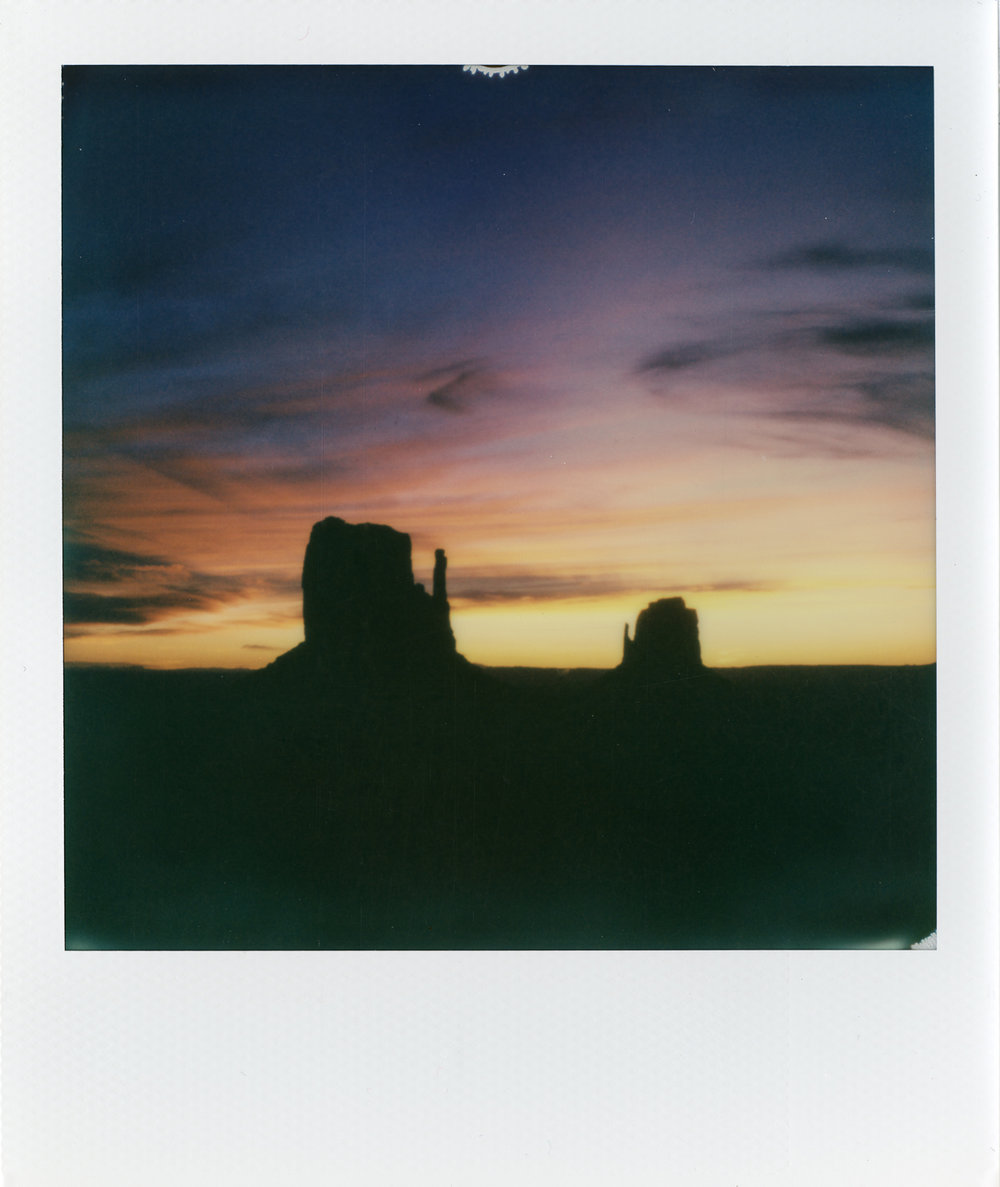 Skyfall | Polaroid SLR680 | Impossible Project 600 Color | Kirsten Thys Van Den Audenaerde