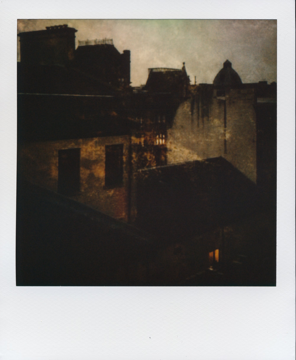 Glasgow By Night | Impossible Project Instant Lab | Impossible Project 70 Color Film | Per Forsström